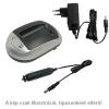 WPOWER Sony NP-F330, NP-F950, NP-FM50, NP-QM50, NP-QM51, NP-FM70 akku töltő