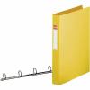 """ESSELTE """"Standard"""" gyűrűskönyv 35mm 4gy. sárga"""