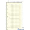 SATURNUS Gyűrűs kalendáriumhoz négyzethálós jegyzetlap M 30lap/csom