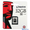 Kingston Micro SecureDigital memóriakártya 32GB (SDHC fogl) Class 10