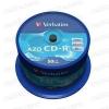 Verbatim Crystal Azo CD-R 52x Cake (50) /43343/