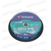 Verbatim DVD-RW 4x Cake (10) /43552/