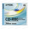 TDK CD-R 52x Jewel Case (10)