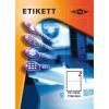 Etikett címke pd 210x148 szegély nélkül 200 db/doboz