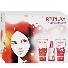 Replay Your Fragrance! for her Szett kozmetikai ajándékcsomag