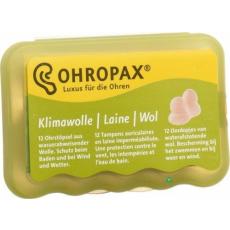 Beaco Ohropax Klíma-Wolle gyapjú füldugó 6 pár