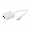 4world Adapter mini DisplayPort [M] > HDMI [F]  fehér