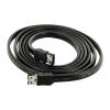 4world HDD Cable | eSATA (M) - eSATA (M) | fekete