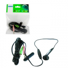 4world Headset mini mikrofonnal skype-hoz headset & mikrofon