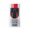 4world MP3 Earphones DuoColor Flat | jack 3.5mm | 1.2m | Vörös és fekete