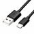 4world USB 2.0 kábel AM / B Micro USB-C transfer/töltőhöz 1.0m fekete