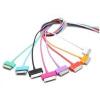4world USB 2.0 kábel iPad / iPhone / iPod transfer/töltőhöz 1.0m kék (07934-OEM)