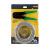 4world UTP kat. 5e kábel készlet  25m+krimpelő fogó + 10 db RJ45 csatlakozó dugó