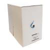 4world UTP Telepítő kábel  4x2  kat. 6  vezeték 305m  CU - tiszta réz  kék