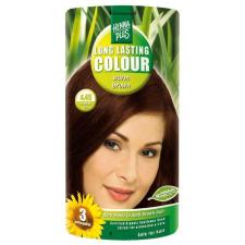 HennaPlus természetesen tartós hajfesték 4.45 melegbarna 1db hajfesték, színező