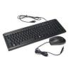 Kolink fekete optikai USB billentyűzet + egér