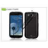 Samsung Samsung i9300 Galaxy S III hátlap - Case-Mate Barely There Brushed Aluminium - black
