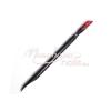 Moonbasanails Bőrfeltoló műanyag  Fekete, Piros