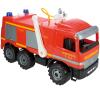 LENA Mercedes tűzoltóautó autópálya és játékautó