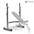 Horizon Fitness Adonis rack