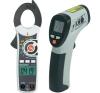 Jubileumi ajánlat: Voltcraft IR-260-8S infra hőmérő + AC/DC mini lakatfogó, VC-521 mérőműszer