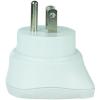Conrad Skross átalakító úti adapter USA-ba, fehér, 1.500203