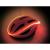 Conrad UP-4CAO Kerékpár sisakra rakható világító fényszalag, sisak jelzőfény