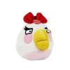 Angry Birds Plüss - 13 cm - Piros Lány Madár- Hanggal