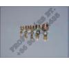 Légfékcső csatlakozó (csavaros) vágógyűrű 4,5,6,8,10,12,15 autóalkatrész
