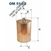 Olajszűrő MERCEDES OM514/2