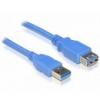 DELOCK USB 3.0 A hosszabbító kábel 2m