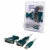 LogiLink USB 2.0-ból soros adapter, 9+25 Pin