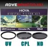 Digital Filter Kit UV,CPL,ND 72mm szűrőkkel