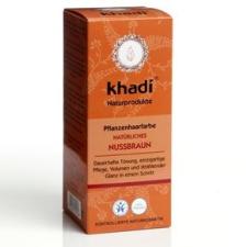 Khadi Mogyoróbarna por hajfesték, színező