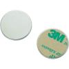 Conrad Mágneses lap, öntapadós (Ø) 25 mm ezüst N35 Neodymium nikkelezett N35-2502 Conrad