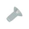 Toolcraft Lencsefejű süllyesztettfejű csavar, kereszthornyos DIN 966 poliamid, M6X20 (10), Liseko