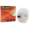 3M SCOTCH® CRYSTAL CLEAR 600 ragasztószallag, 19 MM X 33 M