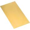 Modelcraft foszforbronz lemez 150 x 200 x 0,25 mm
