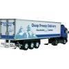 tamiya 1:14 Hűtő konténer vontatmány: Deep Freeze Delivery