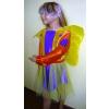 Pillangó jelmez, sárga - 2277