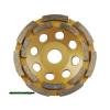 gyémántcsiszoló korong; 125mm×22,2mm, kétsoros