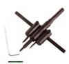 körkivágó gipszkartonhoz, 2db 30-120mm, állítható acélkéssel; (fához, gumihoz, műanyaghoz is használható) barkácsszerszám