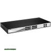 D-Link DGS-1210-16 16 Port Gigabit Smart Switch 16xport,Fémház,16xGigabit,4 Combo SFP ports