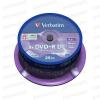 Verbatim DL DVD 8X Cake (25) /43757/