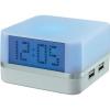 Conrad 4 portos USB HUB óra, színváltós