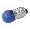Gömbizzó 3,5V 0,2A E10 kék