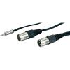 Adapter Mini/2 x XLR-M / 3 m