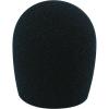 Mikrofon szélvédő, fekete