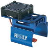 Reely Reely alu modellmotor hűtőborda, ventilátorral, kék, WH-007/B