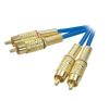 Kábel 2 RCA/2 RCA 10 m SPEAKA audió/videó kellék, kábel és adapter